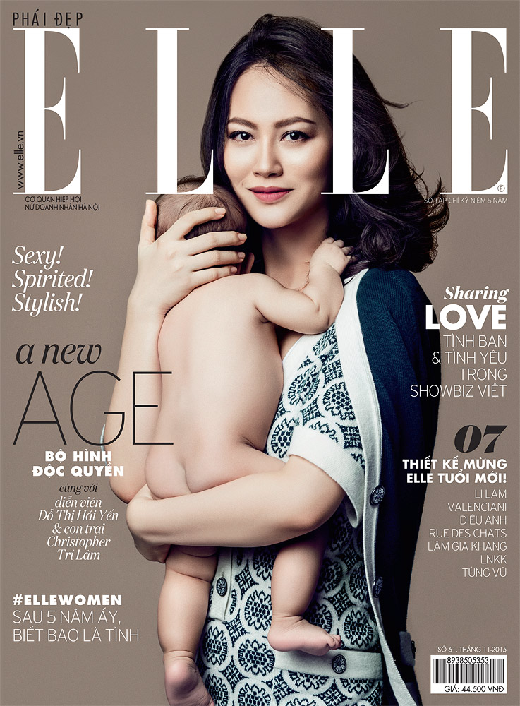 Elle Vietnam  , November 2015 Do Thi Hai Yen