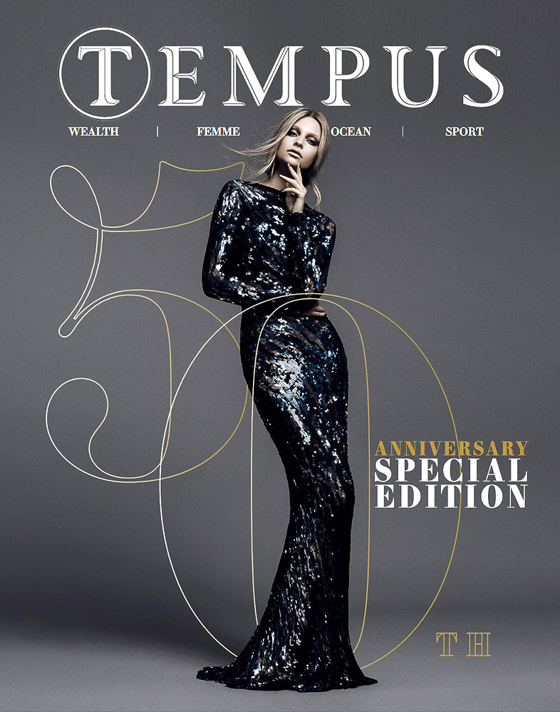Tempus Magazine 50th Special Edition Cover