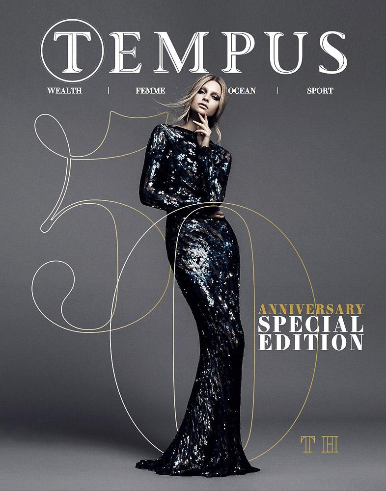 Tempus Magazine 50th Special Edition Cover