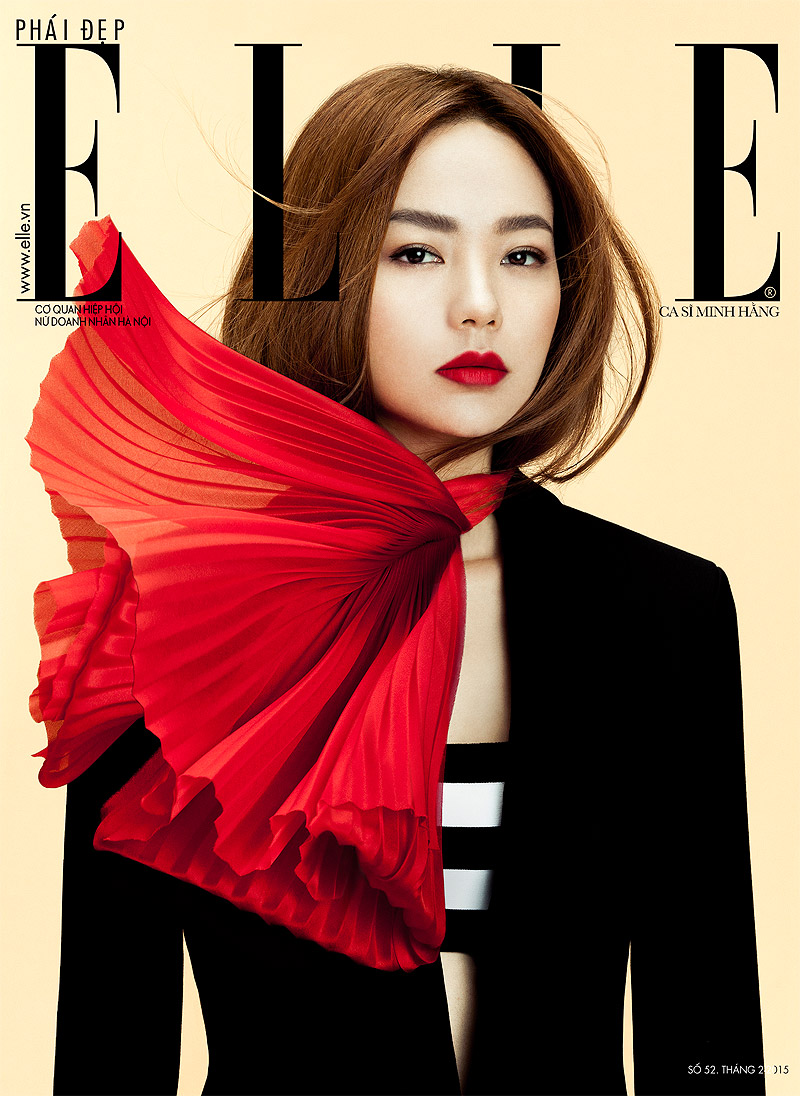Elle Vietnam  , February 2015 Minh Hang
