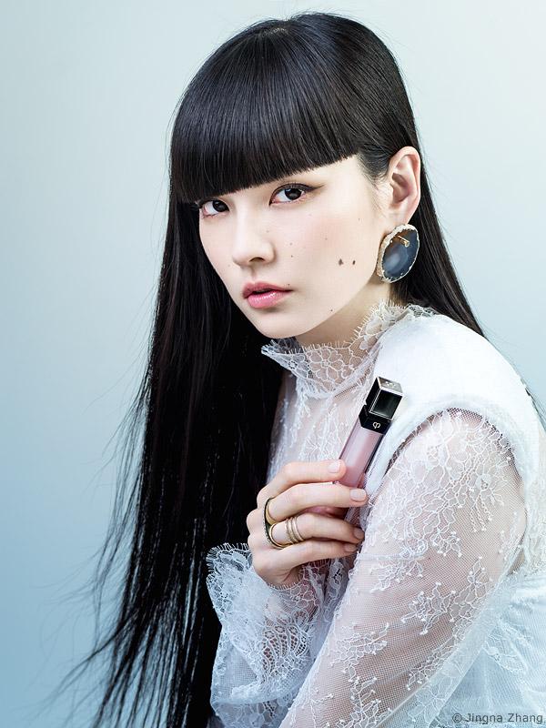 Vogue Japan x Cle de Peau Beaute feat. Kozue Akimoto
