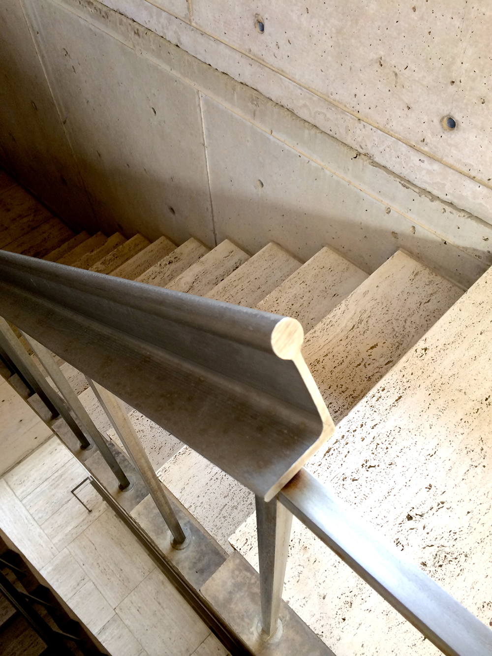 Handrail; Salk Institute - La Jolla, CA