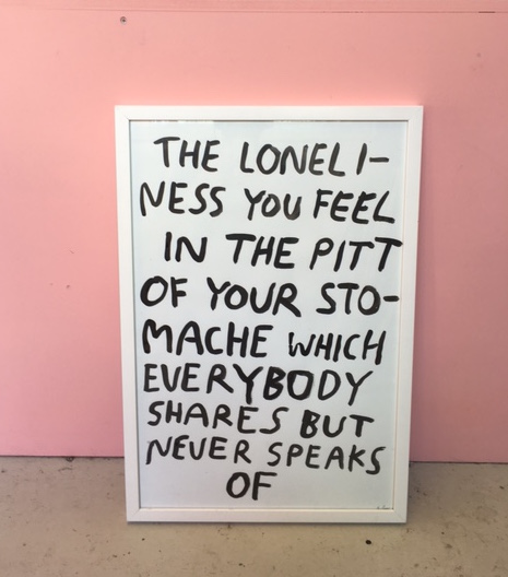 THE LONELINESS EVERYBODY SHARES