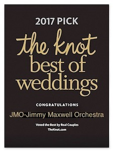 "JMO wins ""Best of Weddings"" for 2017 from The Knot!"
