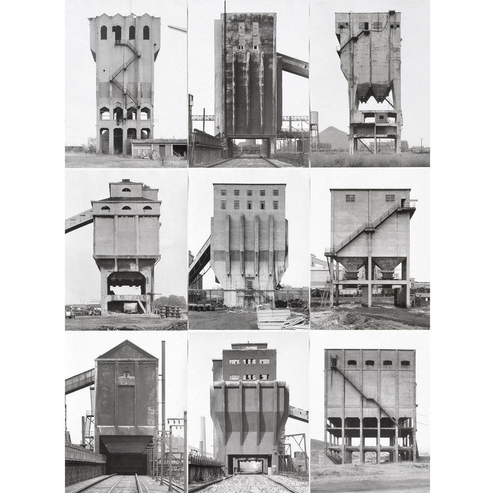 Bernd Becher and Hilla Becher, 'Coal Bunkers', 1974.