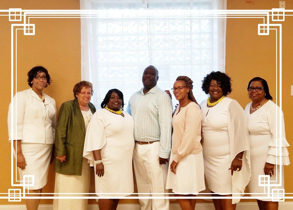 The Ministerial Team… thanks for join us, elder harold