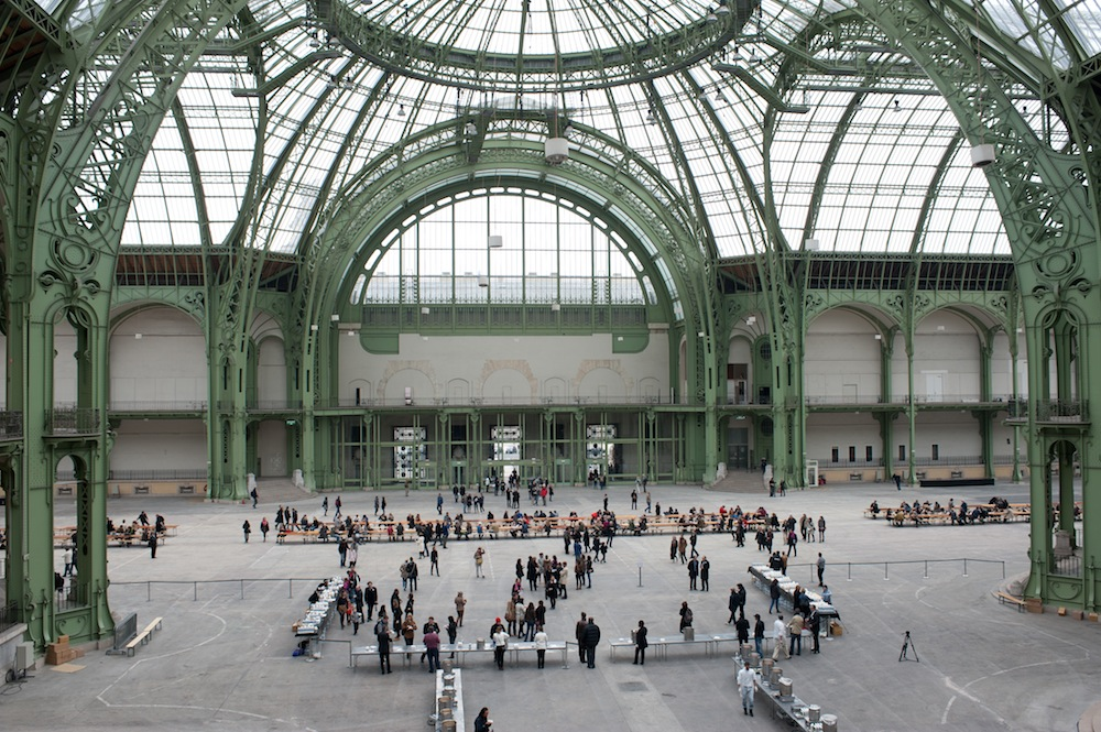 ©  Soup/No Soup , Rirkrit Tiravanija at the Grand Palais in Paris