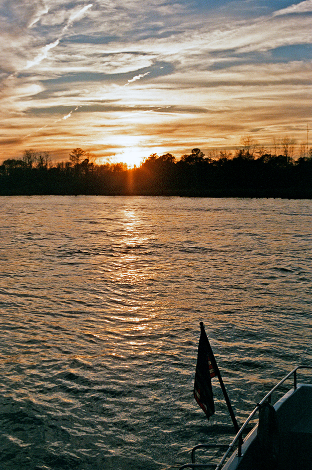 Cape Fear River, Wilmington, North Carolina