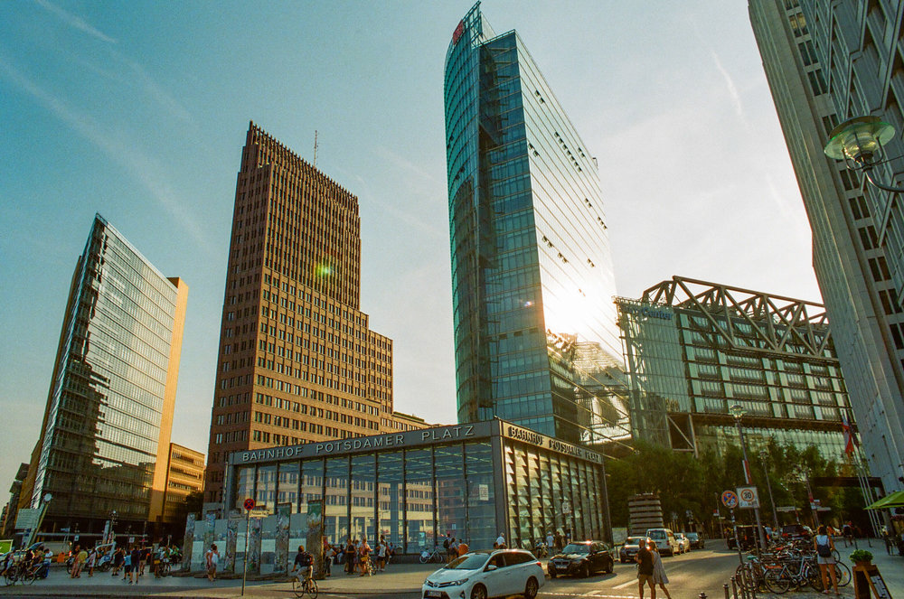 Potsdamer Platz, Berlin, July 2018