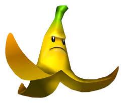 grumpy banana