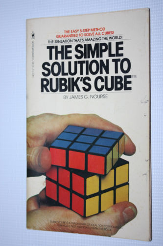 simple solution to the Rubiks cube