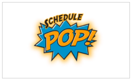 SchedulePop    Restaurant Scheduling made easy.  SchedulePop  is a web and mobile solution for restaurant managers and their staff.  Managers have simple tools to build a rules-based schedule for their staff.  The staff has one-click access to their schedule and tools to offer, accept, and swap shifts from their smartphone.   Schedule. Swap. Manage. Mobile. About a buck a month per staff member.
