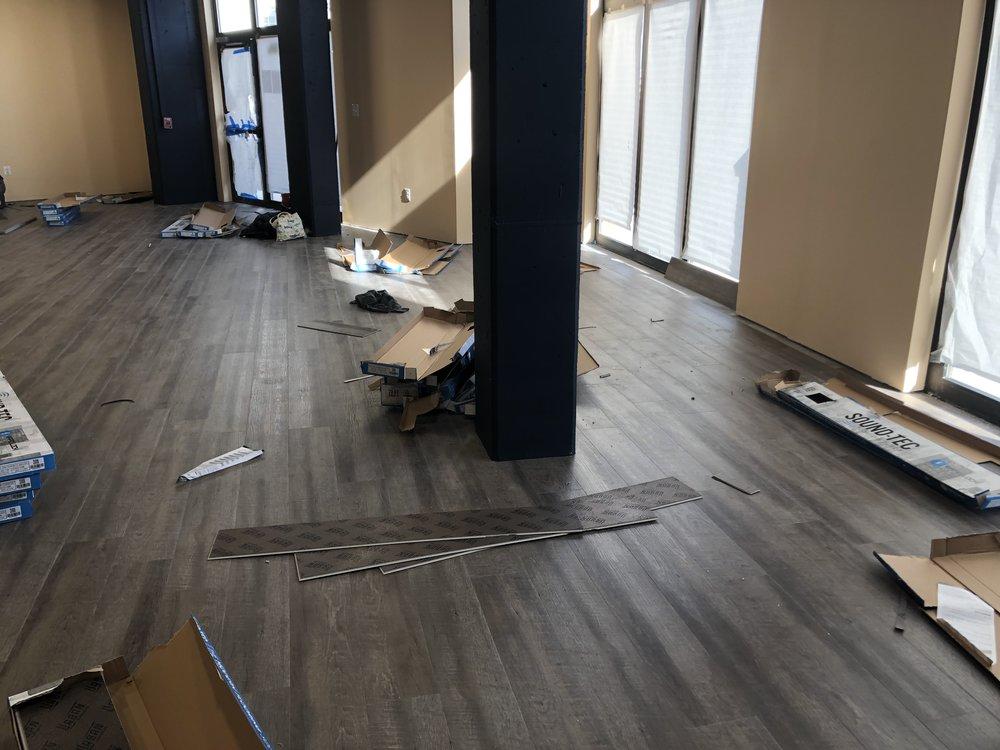 Flooring - Installing the floor