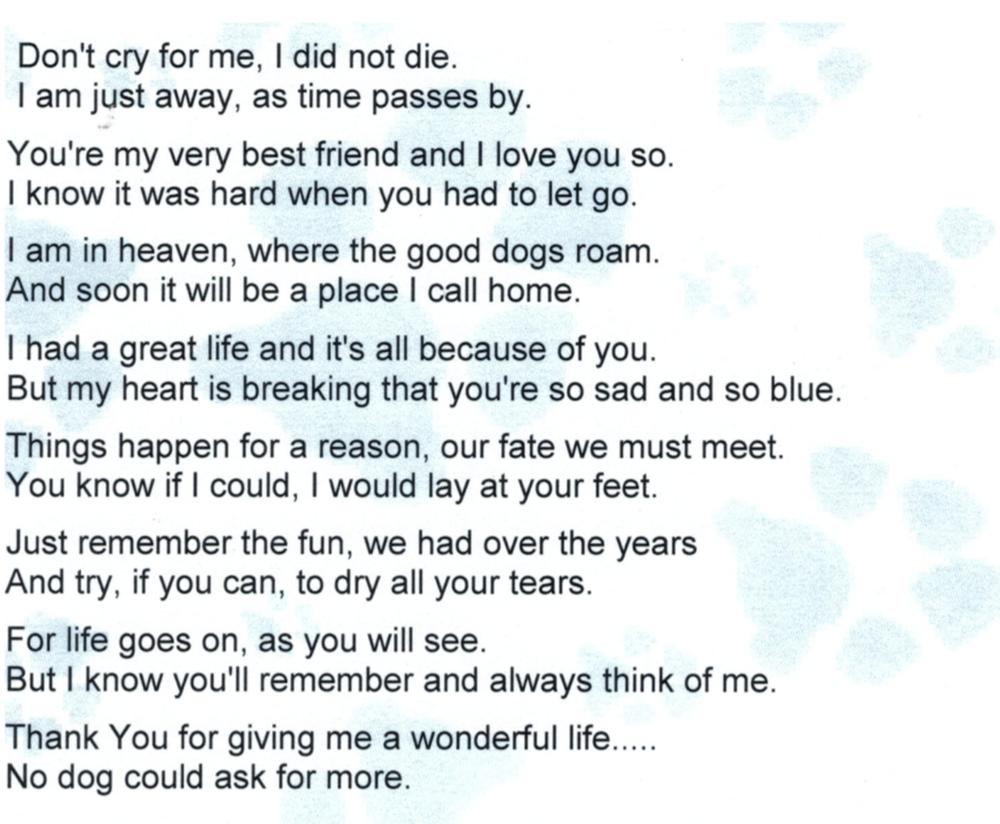 Poem For Doris