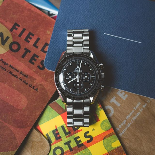 Write something today. Anything. Just write.  #speedytuesday #speedmaster #womw #fieldnotes #baronfig #journal #writing