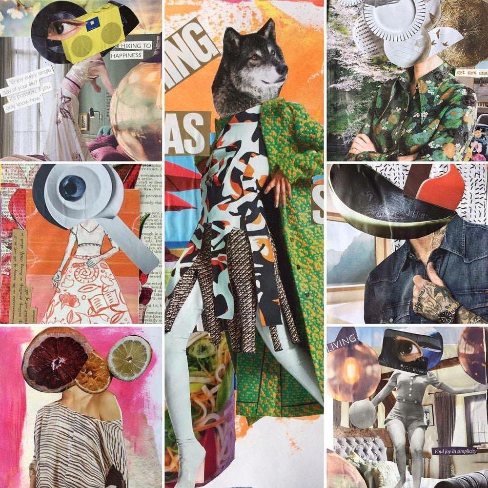visual journaling by Sheree Angela Matthews