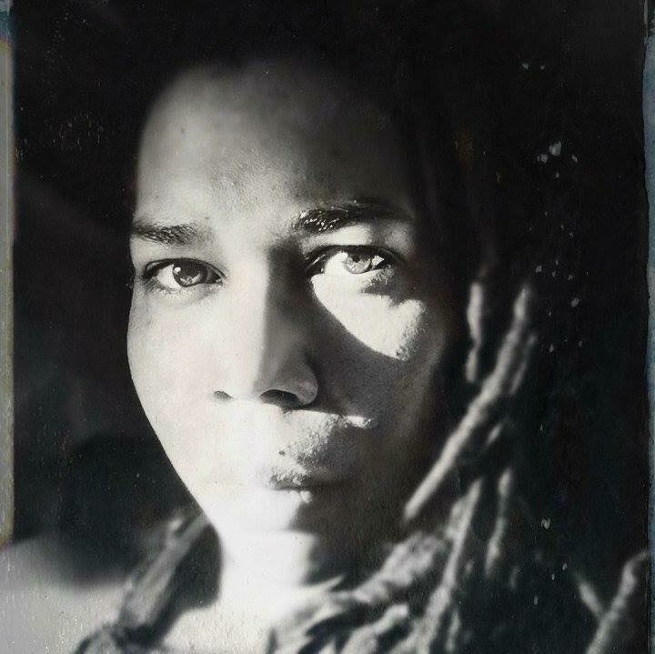 self-portrait by Sheree Angela Matthews
