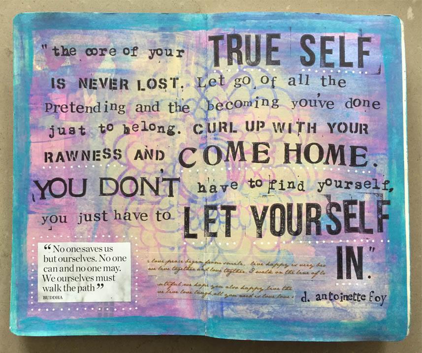 creative journaling by Jen Morris
