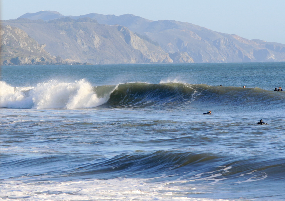 Surf in Bolinas- Northern CA