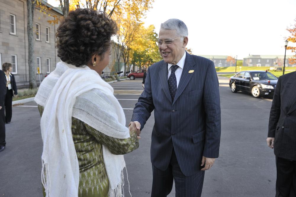Citadelle, Sommet de la Francophonie, P-M du Maroc, S.E. Abbés El Fassis (2).JPG