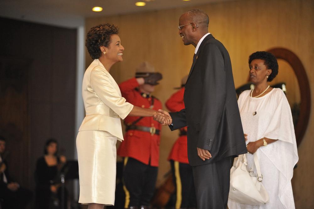 Citadelle, Sommet de la Francophonie, Président de la Rép, S.E. Paul Kagame , Octobre 2008 (9).JPG
