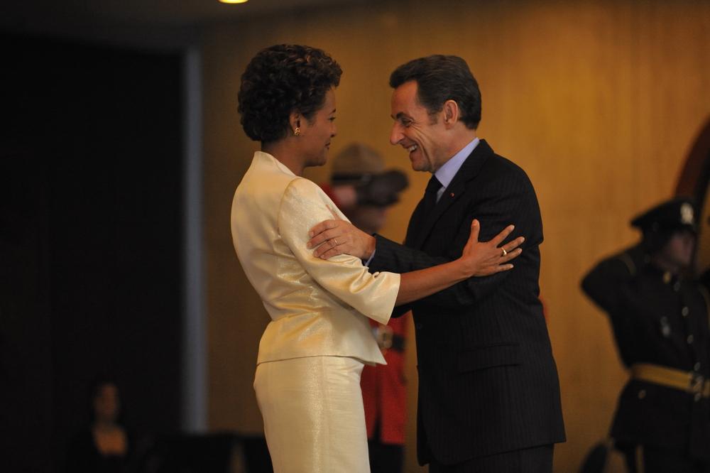 Citadelle, Sommet de la Francophonie, Président de la République française, Nicolas Sarkozy, Octobre 2008 (17).JPG