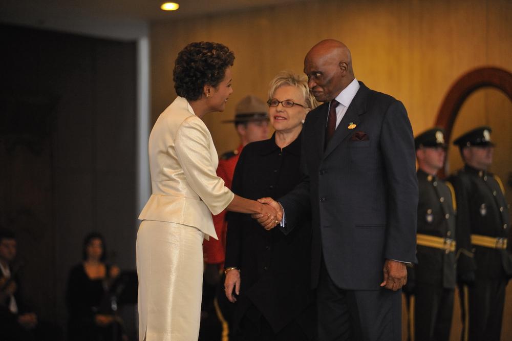 Citadelle, Sommet de la Francophonie, Président de la République, S.E. Abdoulaye Wade, Octobre 2008.JPG