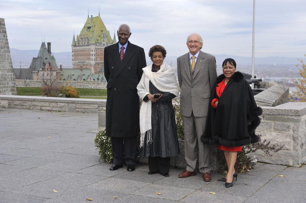 Citadelle, Sommet de la Francophonie, S.G. de la Francophonie, S.E. Abdou Diouf, Octobre 2008 (2).jpg