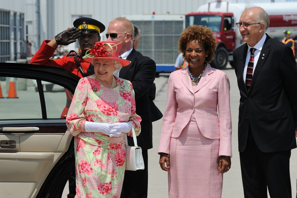 Toronto, Her Majesty The Queen, Juillet 2010;.JPG