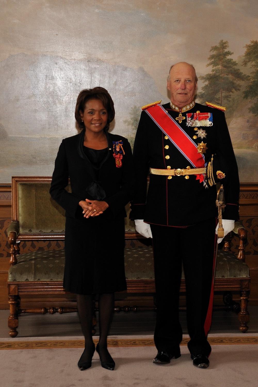 Norvège, Sa majesté le Roi,  Harald V, avril 2009.jpg