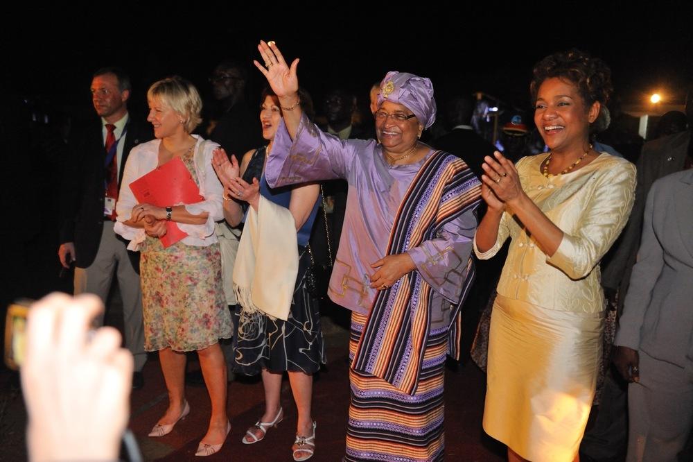 Présidente du Libéria Johnson Sirleaf mars 2009_3.jpg