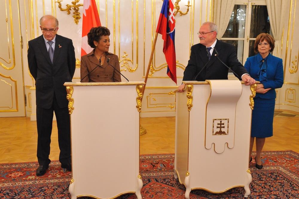 Slovaquie, Président de la République, S.E. Gašparovič, novembre 2008_4.jpg