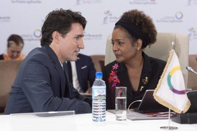 Le premier ministre canadien Justin Trudeau a évité de commenter les propos de Donald Trump. Michaelle Jean, elle, a qualifié ces propos de «troublants» et d'«insulte à l'humanité».  PHOTO LA PRESSE CANADIENNE