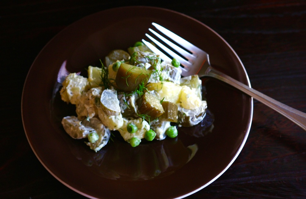 Potato Salad made with Real Pickles + Cultured Mayo