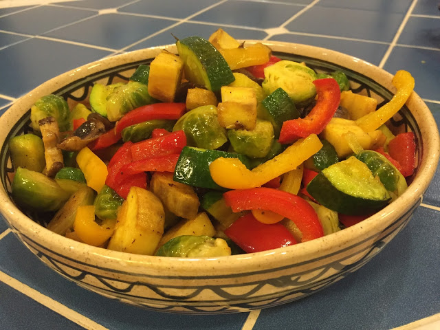 Mixed Vegetables with Chicken Salt Spice Blend - If you prefer to remain true to the