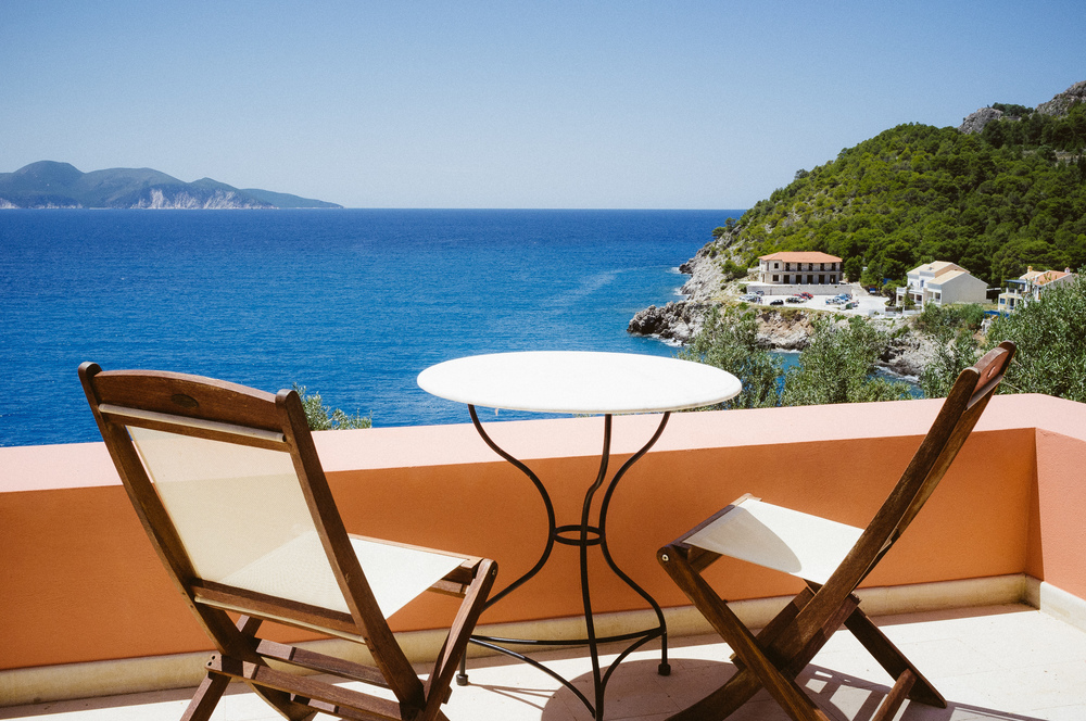 View from our balcony in Kefalonia, Greece –May 16 2012, Fujifilm X100