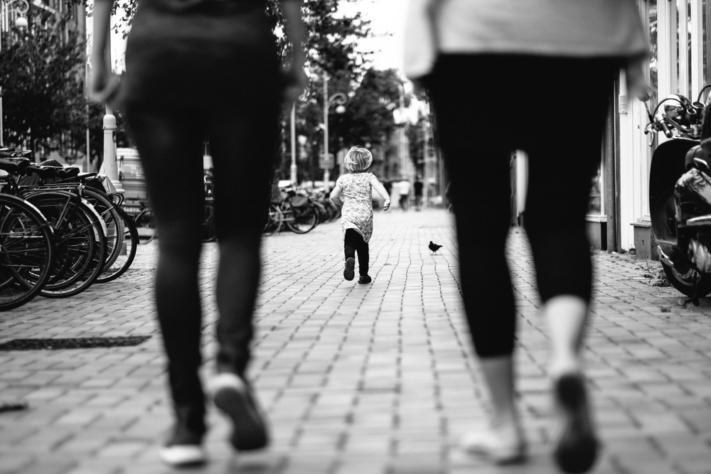 My little cousin making a run for it –August 10 2014, Fuji X-T1 + 56mm f/1.2