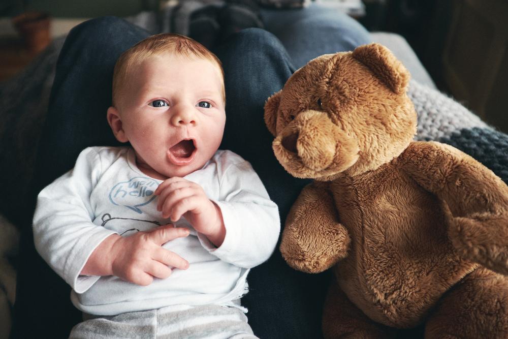 My three-week old son Elias –January 22 2016, Fujifilm X100T + WCL, 1/300 sec at f/2.2, ISO 800.