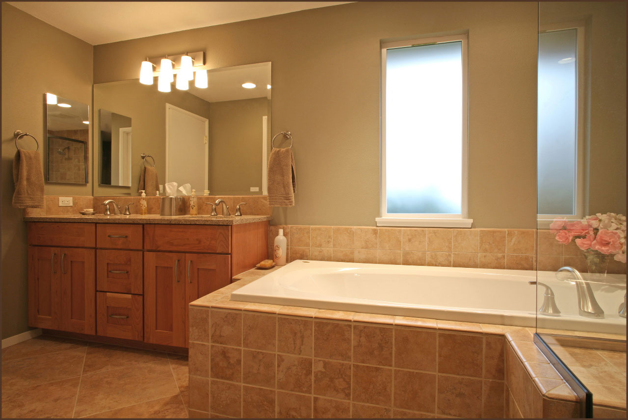 Hunter Bathroom Remodel Beaverton David E Benner Fine Remodeling - Bathroom remodel beaverton oregon