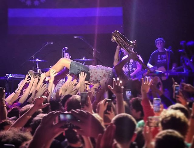 @jeffrosenstock is the real Sexy Sax Man.