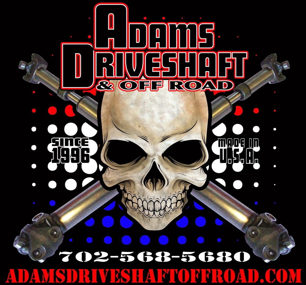 Adams Driveshaft for JK/JKU    Adams Driveshaft for TJ/LJ    Adams Driveshaft for YJ    Adams Driveshaft for XJ