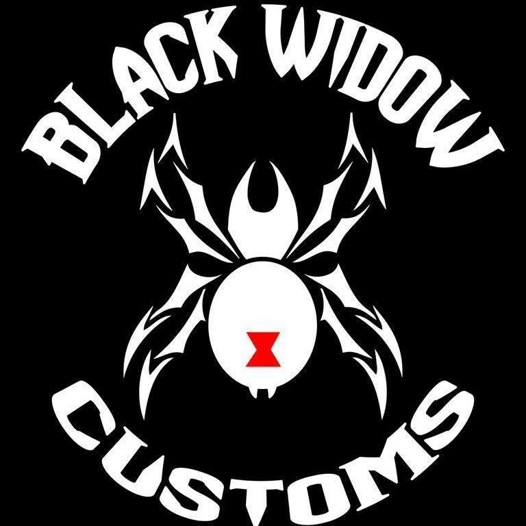 Black Widow Customs T-Shirts Shirts    Black Widow Customs Long-Sleeve Shirts    Black Widow Customs Universal Fire Extinguisher     Black Widow Customs Universal Grab Handles