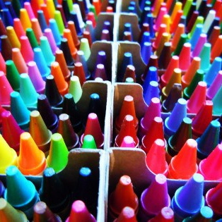 Emmy's crayons