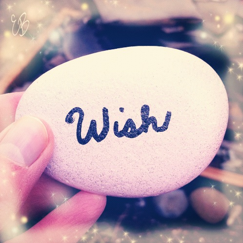 Emmy Blue's wishing stone