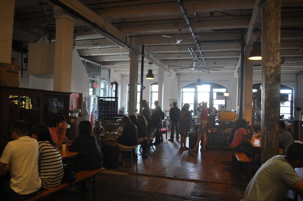 Brooklyn Roasting Company, DUMBO Brooklyn