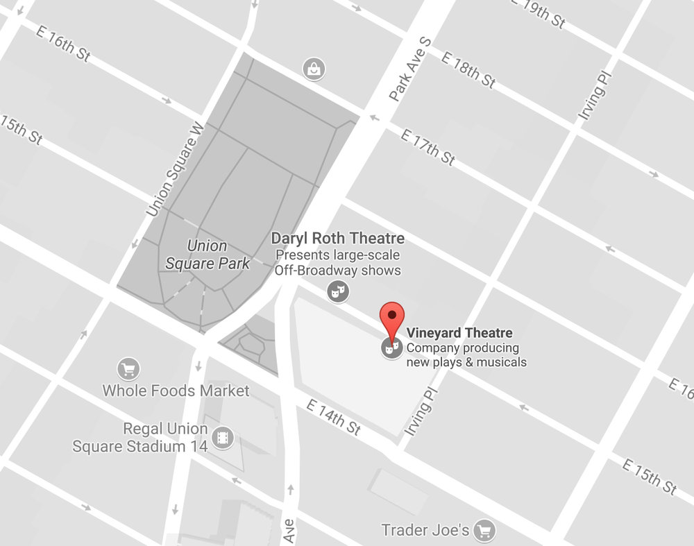 Hope Hill Church meets weekly in Manhattan at the Vineyard Theatre (108 E. 15th Street, New York, NY) at Union Square