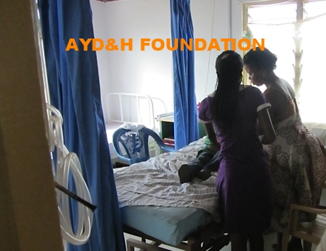 www.aydnhfoundation.org  Nurse's Aid Training to be a nurse at the Urgent Care Hospital Ghana