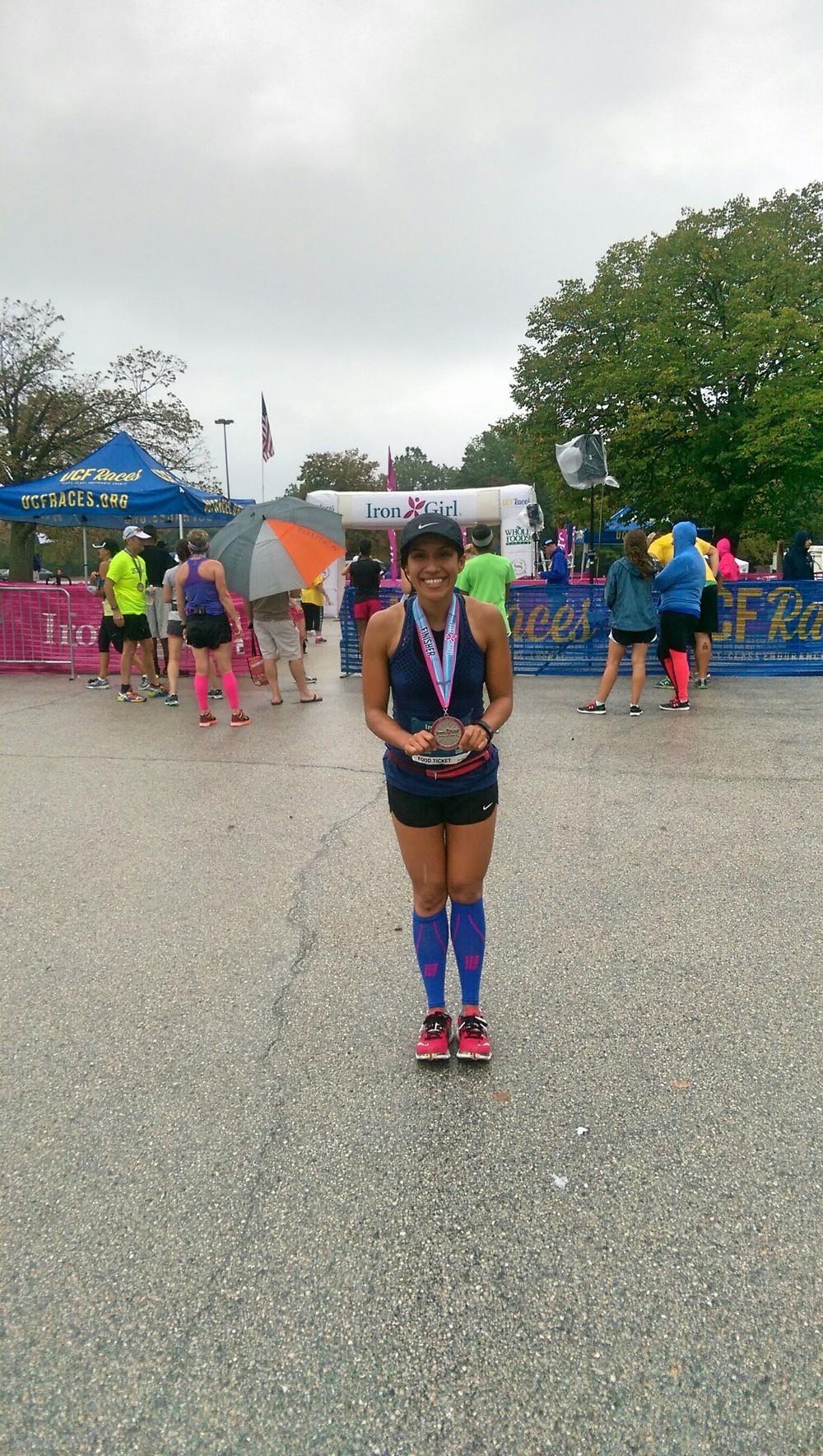 Iron Girl finisher!