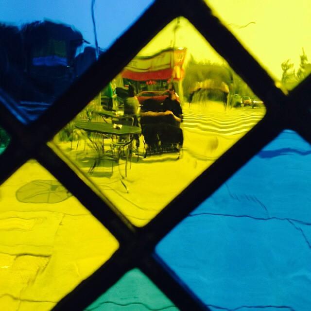Debbie Bean Stained Glass Installation13.jpg
