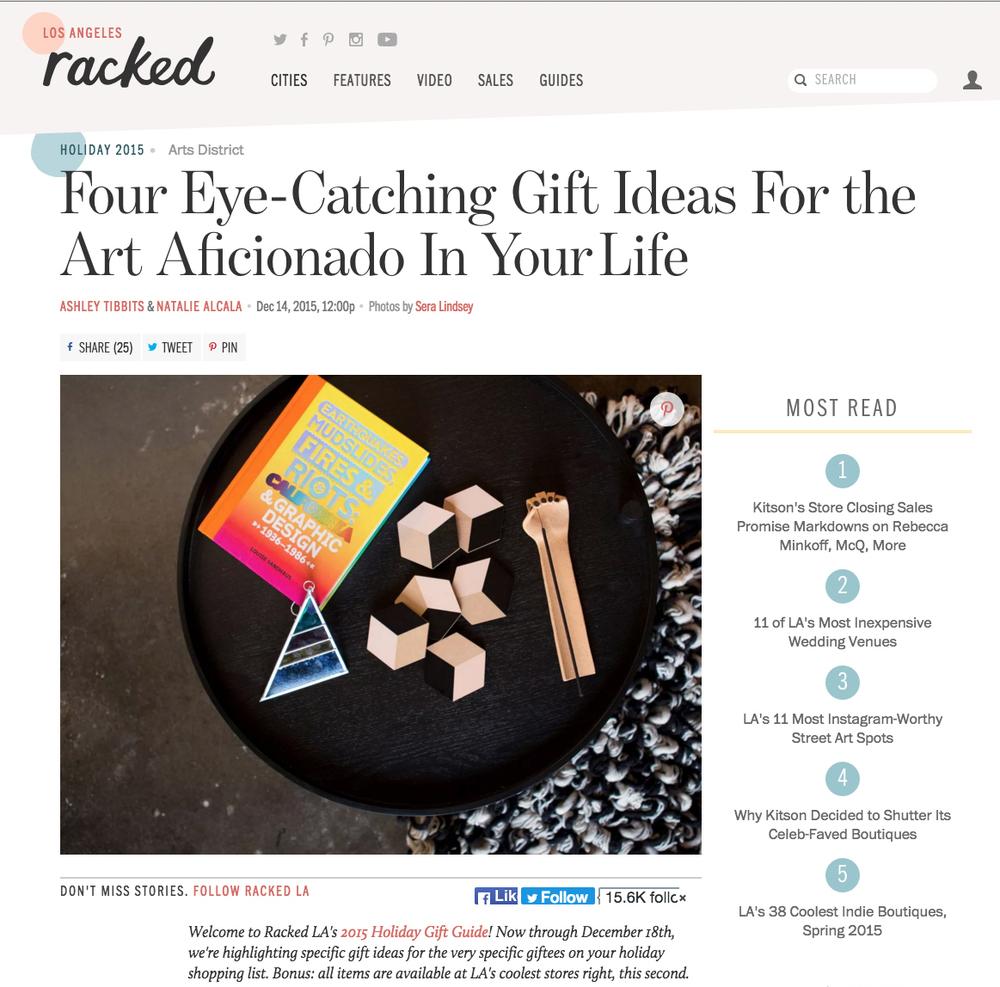 Racked La Racked La Gift Guide Debbie Bean